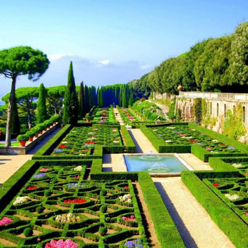 Los Jardines Vaticanos en Roma